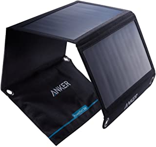 Anker 21W Dual USB Solar Charger, PowerPort Solar for iPhone 7 / 6s / Plus, iPad Pro/Air 2 / Mini, Galaxy S7 / S6 / Edge/P...