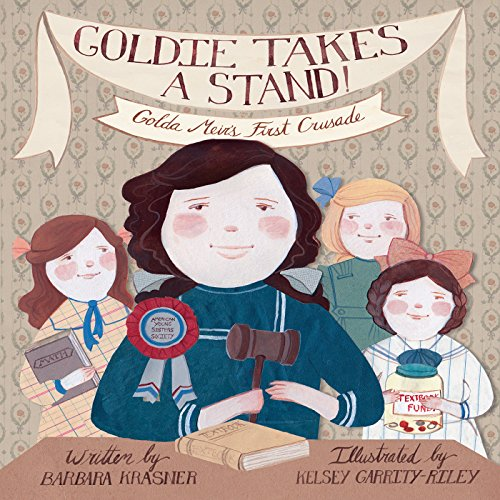 Goldie Takes a Stand copertina