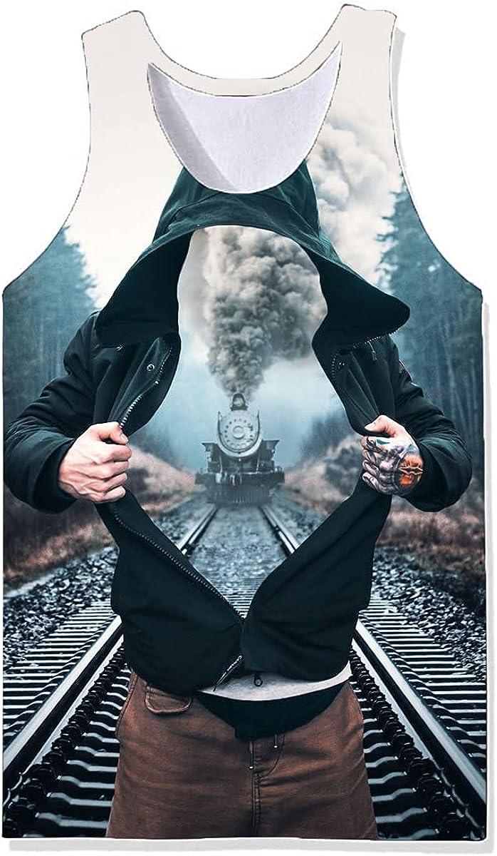 Damela Direct store Boy 70% OFF Outlet 3D Magical Printed Pullover Vest Journey