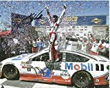 Kevin Harvick Autographed Picture - 2017 Mobil 1 Busch Beer Monster Cup 8x10 - Autographed NASCAR Photos