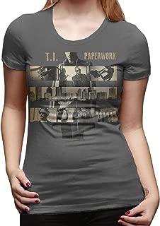 YFF Women's T.I-Paperwork Funny Tshirt DeepHeather