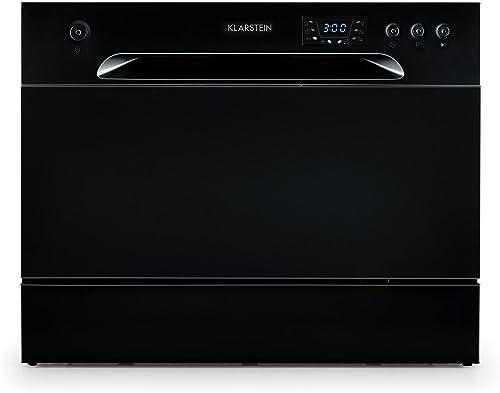KLARSTEIN Amazonia 6 - Lave-vaisselle de table, 1380 watts, Six programmes, Construction éco-énergétique, Facile à ne...