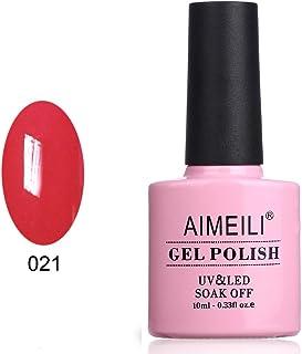 AIMEILI Soak Off UV LED Gel Nail Polish - Lobster Roll (021) 10ml
