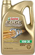 Castrol 03085 EDGE Extended Performance 10W-30 Advanced Full Synthetic Motor Oil, 5 Quart
