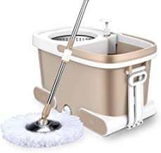 JUAN living supplies Mop bucket rotating mop free hand washing household rotary automatic water mop | style 3 (Color : Sty...