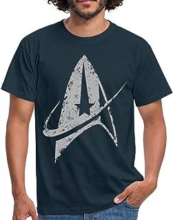 Star Trek Discovery Delta Commando Argent T-Shirt Homme