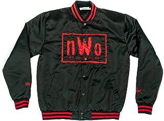 WWE NWO Wolfpac Vintage Chalk Line Jacket