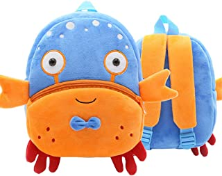 Kids 3D Animal Backpacks Baby Girls Boys Toddler Schoolbag Children Cartoon Lion Bee Bookbag Kindergarten Toys Gifts School Bags