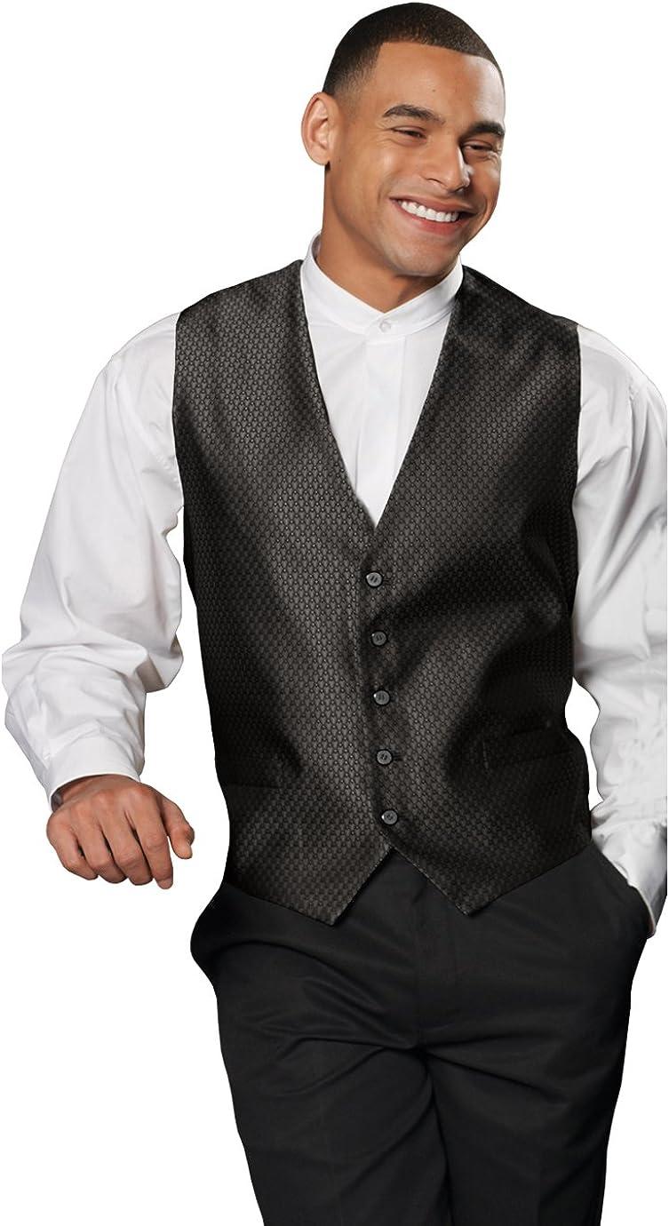 Ed Garments 4390 Men's Diamond Brocade Vest