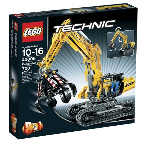 Lego technique excavators 42006 (parallel import goods) (japan import)