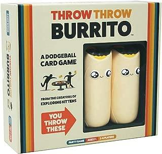 Throw Throw Burrito Dodgeball Board Game Original Edition Party Game