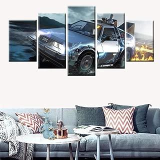 Illusionslampe Zur/ück in die Zukunft Auto 3D-Lichter Filmfans Sch/öne Geschenke Nachtlicht Batteriebetriebenes LED-Nachtlicht Schnelle Lieferung