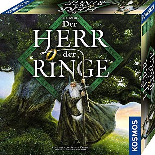 Kosmos 680473 Der Herr der Ringe Fantasy Brettspiel. Für 2 bis 5 Spieler ab 10 Jahre, Yellow