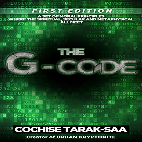 The G-Code audiobook cover art
