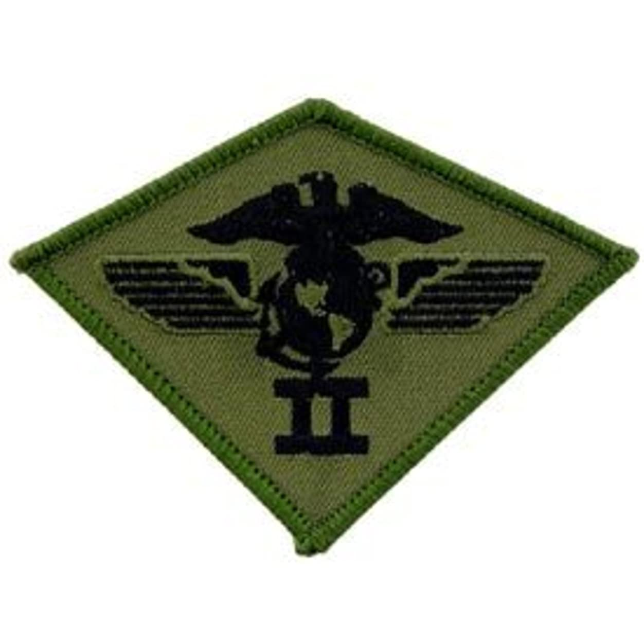 作成する噴水ラフトEagleEmblems pm0873?patch-usmc、02nd Airwing ( Subdued ) ( 3.75?