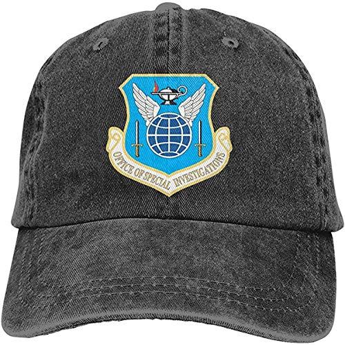 United States Air Office of Special Investigations Adjustable Sport Jeans Baseball Golf Cap Sombrero Unisex Estilo