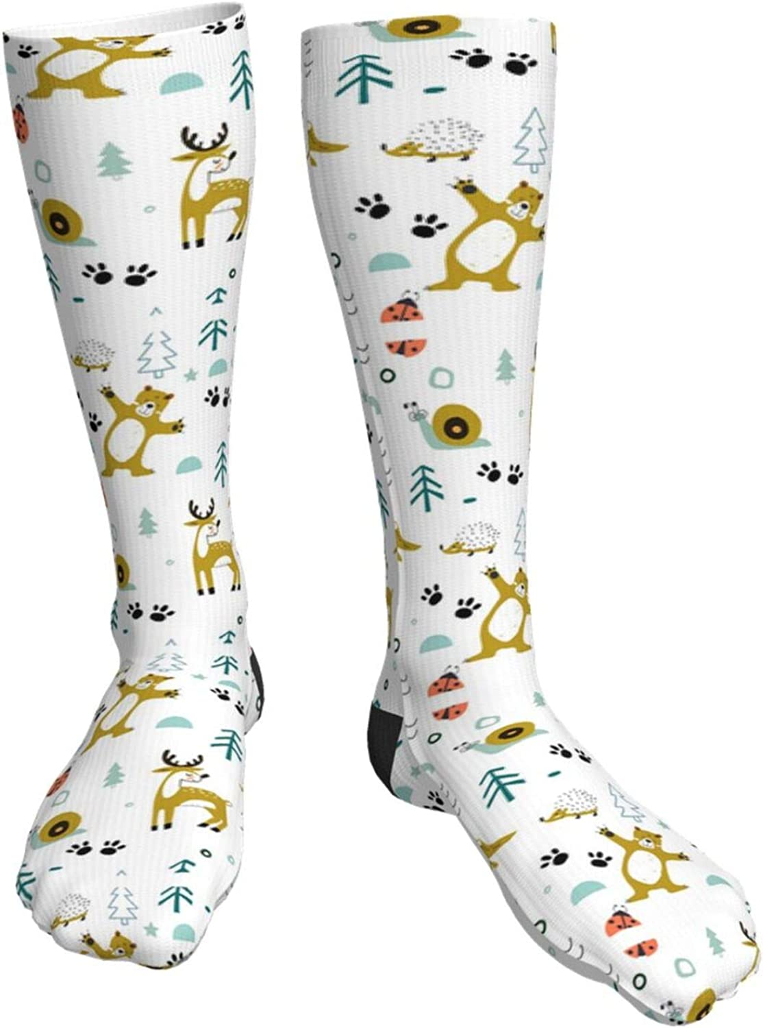 Fashion Snowman Unisex Casual Crew Girl'S Import Boy'S Socks Long Limited time sale