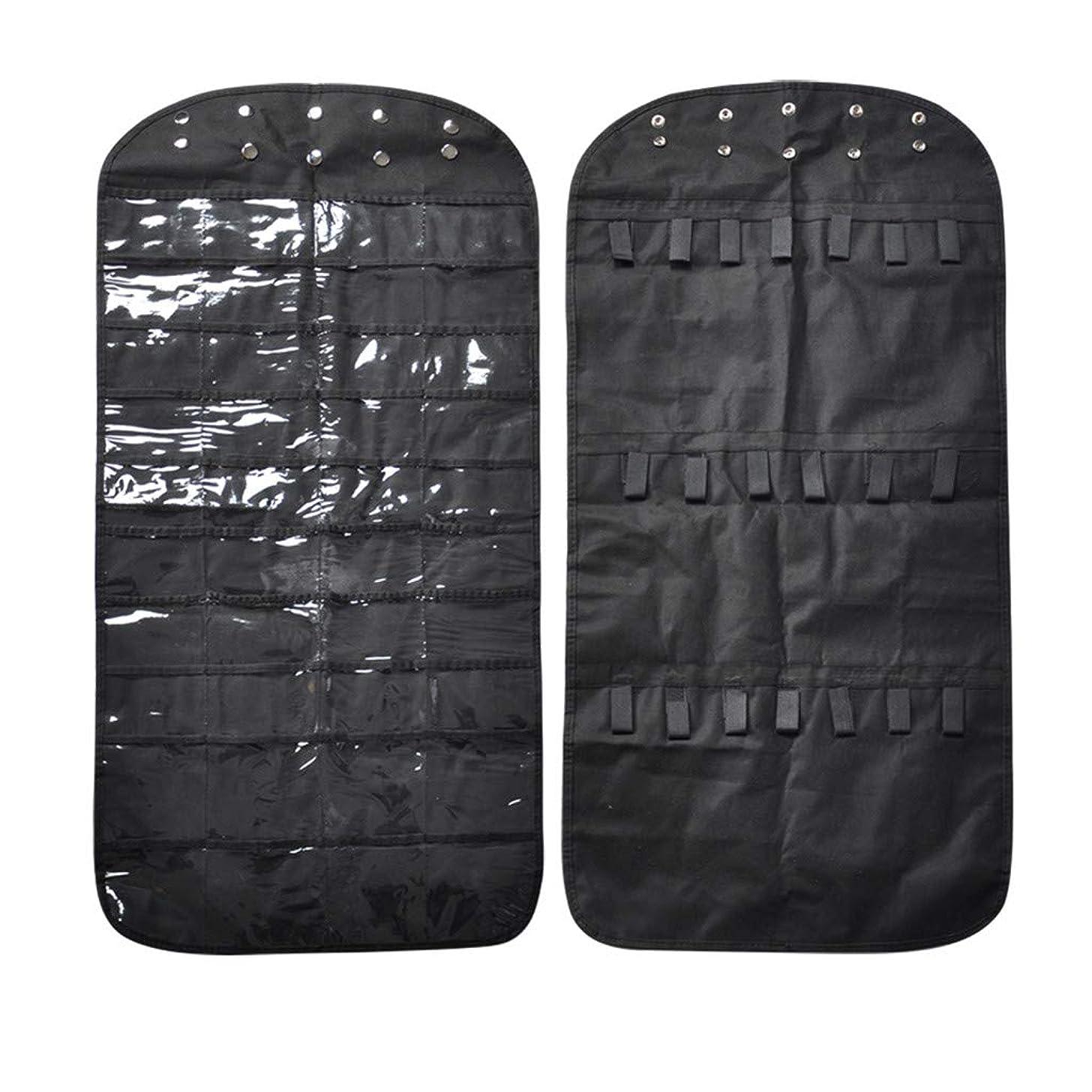 Jewelry Storage Bag, PBudi 80 Pockets Jewelry Hanging Bag Display Bag Non-Woven Fabric (BK0)