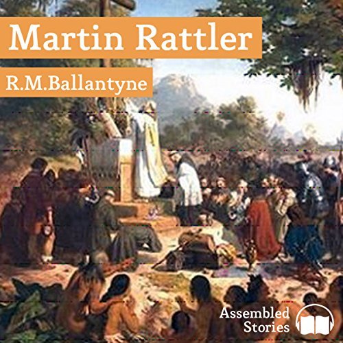 Martin Rattler audiobook cover art