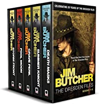 Jim Butcher's Dresden Files - 20th Anniversary Box Set: Books 1-5 in series