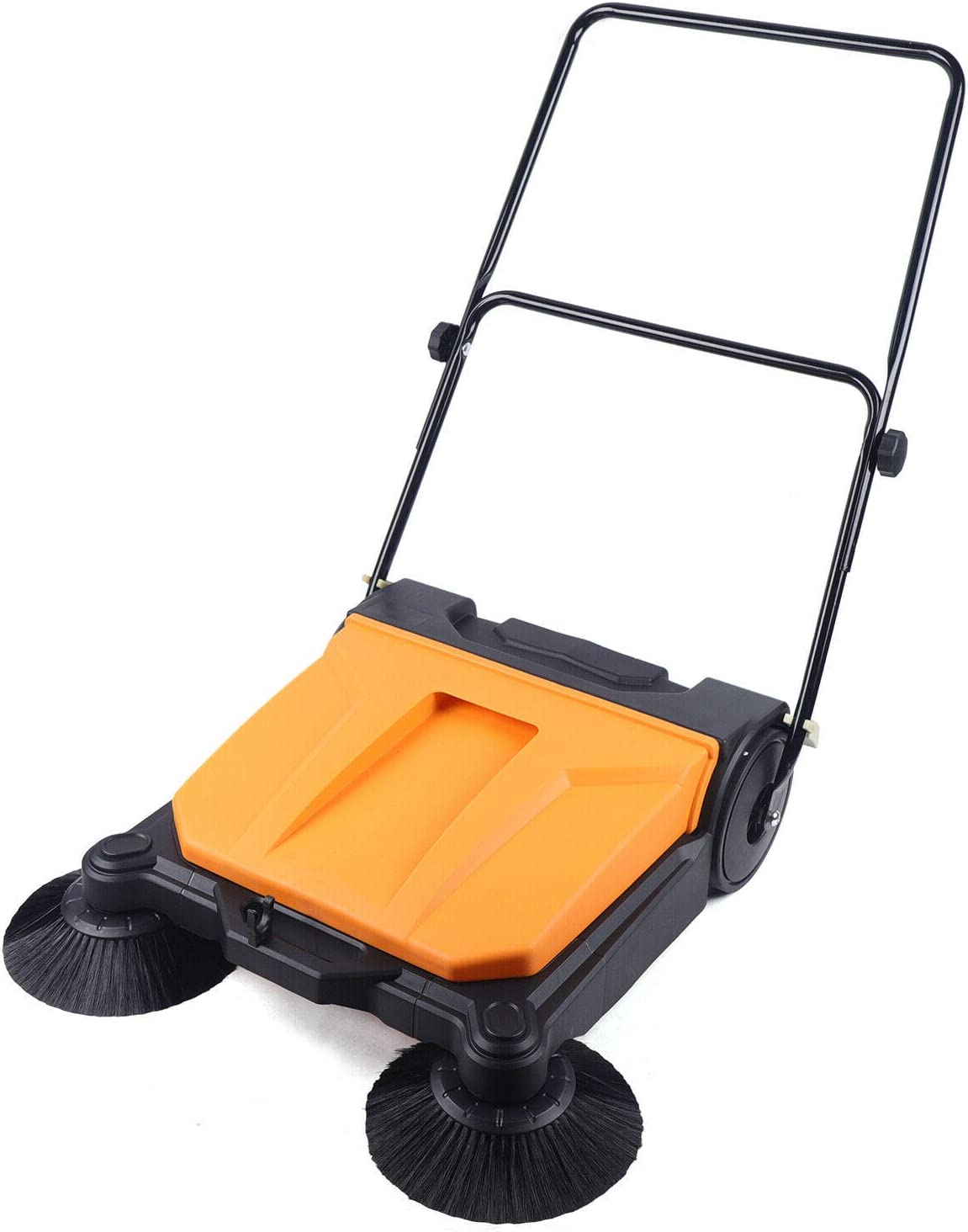 LOYALHEARTDY Industrial Hand-Push Floor Two Sweeper with Ranking Detroit Mall TOP12 Brooms