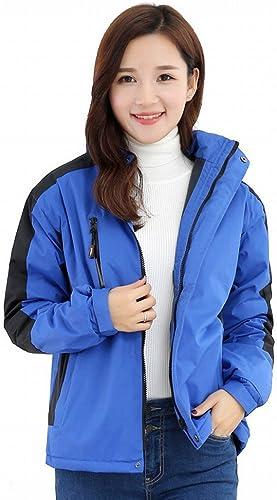 STTS VêteHommests d'urgence Chandail Salopettes Impression Coupe-Vent Imperméable Manteau épais Hiver Hommes Et Femmes Couple Costumes d'alpinisme,Une,XXXL
