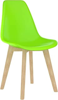 Tidyard 2 Unidades Sillas de Comedor Sillas Cocina Sillas Salon plástico Verde