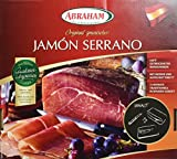 Abraham Jamón Serrano im Geschenkkarton mit Brett und Messer, 1er Pack (1 x 1.1 kg)