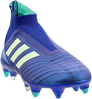 adidas Mens Predator 18+ Soft Ground Soccer Athletic Cleats,