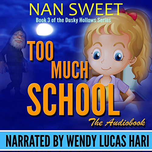 Too Much School audiobook cover art