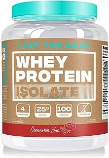 Eat the Bear, Whey Isolate Protein Powder, Keto Friendly Protein Powder, 100 Calories, All Natural, Gluten Free (25 Servin...