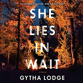 She Lies in Wait audiobook cover art