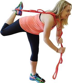 Ravenox Yoga Strap for Stretching | Flexibility Stretch Strap (White)(2 Pack)