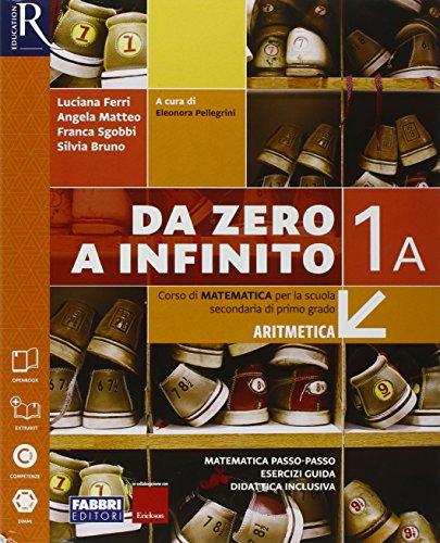 Da zero a infinito. Extrakit-Openbook-Quaderno. Per la Scuola media. Con e-book. Con espansione online: 1