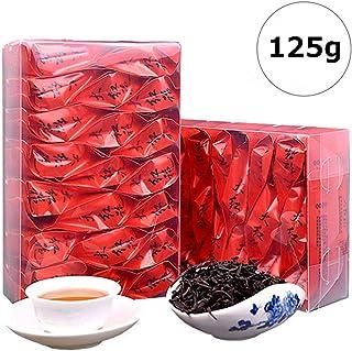 NITIUMI 中国茶 烏龍茶 工芸茶 茶葉 武夷岩茶 大红袍 100%天然野生栽培 無農薬 無添加 大红袍烏龍红茶 (125g)