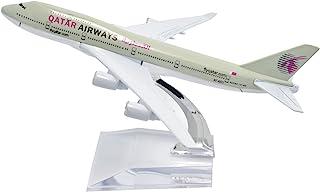 TANG DYNASTY 1/400 16cm カタール航空 Qatar Airways ボーイング B747 高品質合金飛行機プレーン模型 おもちゃ