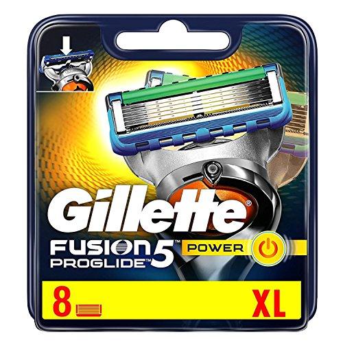 Gillette Fusion5 ProGlide Power Rasierklingen für Männer, 8Stück