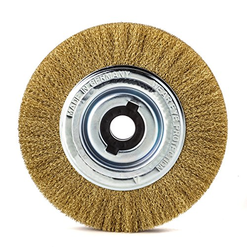 less Homme Brosse ronde 200 mm Tube 50 mm Mes GEW. 0,30 mm, 365562