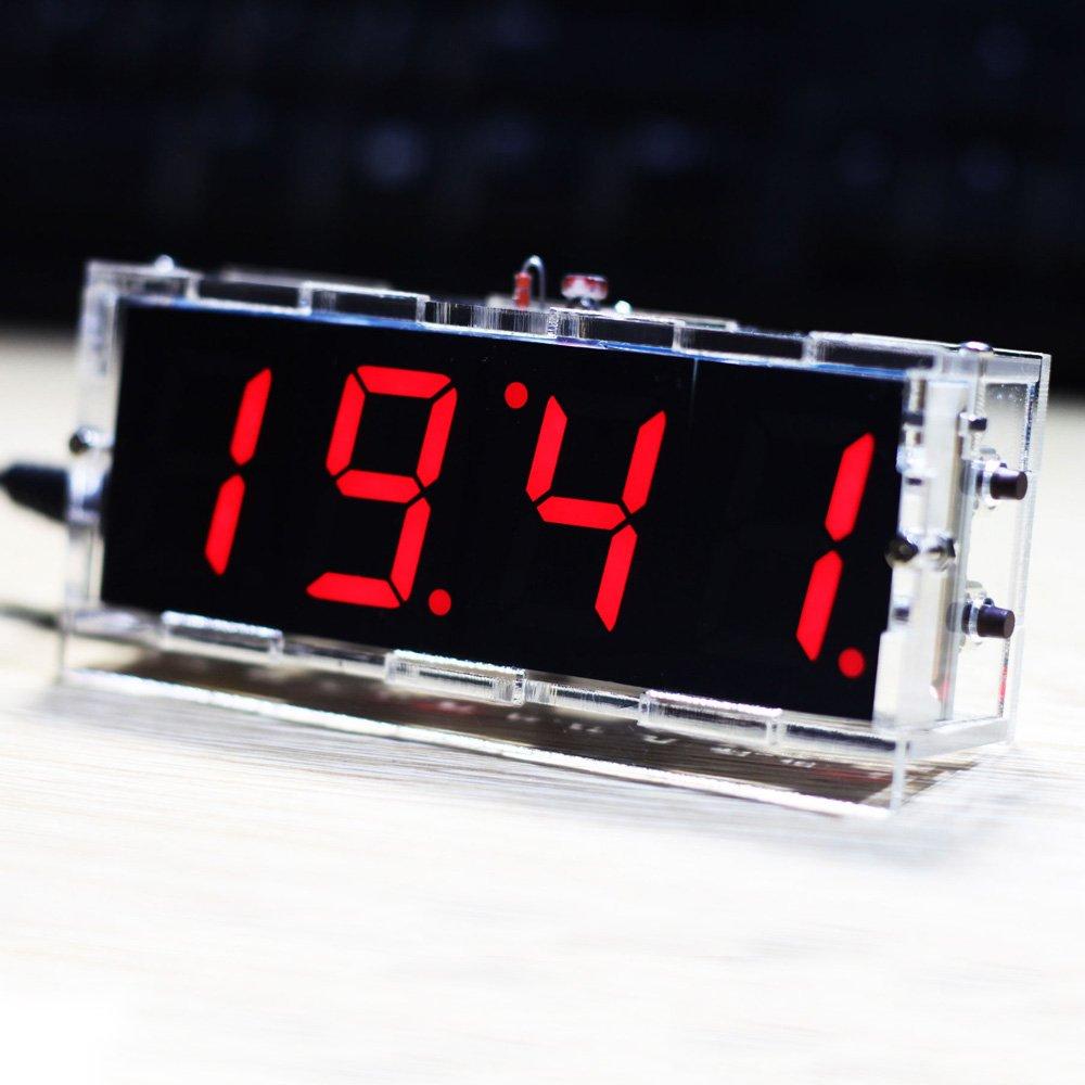Digital Compact 4 digit Temperature Transparent