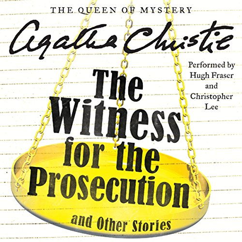 The Witness for the Prosecution and Other Stories audiobook cover art