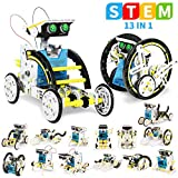 UUSTAR Stem Toys for 8-10 Year Old Boys, 13-in-1 Education Solar Robot Toys Solar Powered by The Sun|DIY Building Science Experiment Kit for Kids, Gifts for 8-12 Year Old Boys