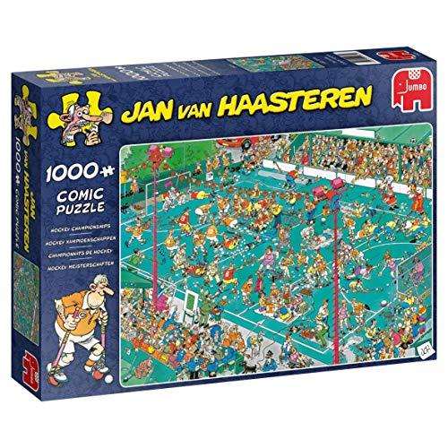 Jumbo 19094 Jan Van Haasteren-Hockey Championship Puzzle 1000 Teile