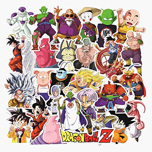 Dragon Ball Stickers Pack100-PCS Stickers for Laptop Motorcycle Bicycle Skateboard Luggage Decal Graffiti Patches Stickers