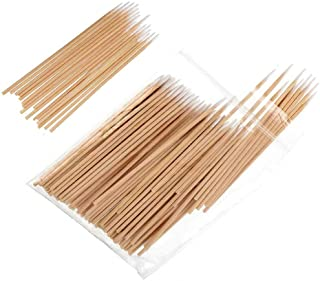 Sakolla 400 Count Pointed Cotton Swab - Precision Microblading Cotton Tipped Applicator & Tattoo Permanent Supplies Cotton...
