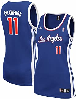 adidas Jamal Crawford Los Angeles Clippers NBA Women's Blue Replica Jersey