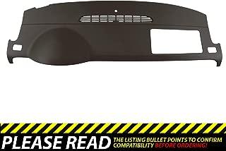 DashSkin Molded Dash Cover Compatible with 07-14 GM SUVs w/o Dash Speaker in Cocoa (USA Made)