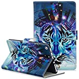 Kindle Fire HD 8 Case,Coopts Lightweight PU Leather Folio