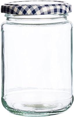 Kilner 25.389 Round Twist Top Jar, 370ml, Transparent 01618
