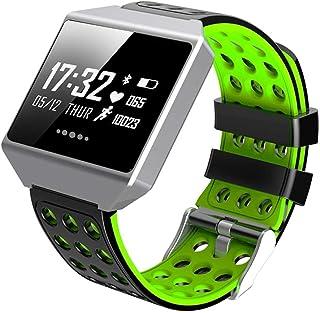 0.96 Pulgadas Fitness Trackers Smart Band Calorie (Color: Verde)