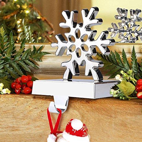 Aytai 3D fiocco di neve calza Hanger di Natale decorazioni per la casa le vacanze di Natale feste Natale forniture